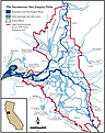 California Delta and Estuary System